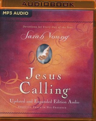 Jesus Calling Updated and Expanded Edition: - unabridged audio book on MP3-CD  -     Narrated By: Nan Gurley, Bill Russell     By: Sarah Young