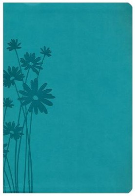 HCSB Super Giant Print Reference Bible, Teal LeatherTouch  -