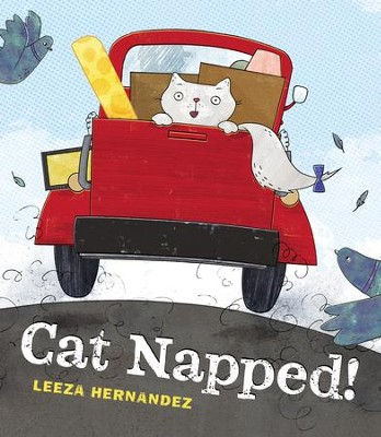 Cat Napped - eBook  -     By: Leeza Hernandez     Illustrated By: Leeza Hernandez