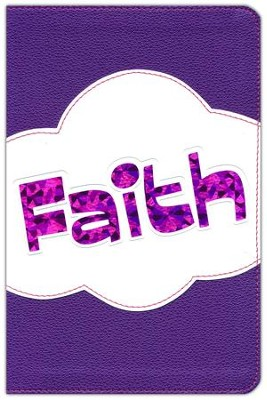 HCSB Study Bible for Kids, Faith LeatherTouch  -