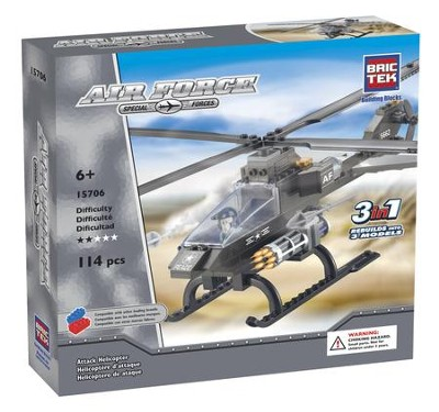 Attack Helicopter 3 in 1   -