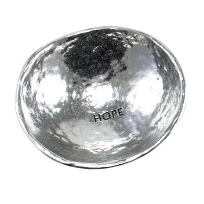 Hope, Jewelry Dish, Silver  -