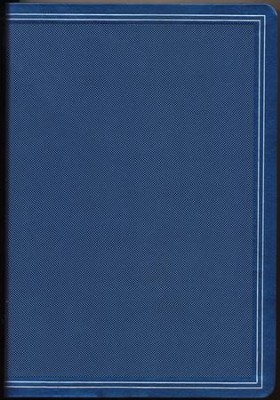HCSB Giant Print Reference Bible--soft leather-look, cobalt blue  -