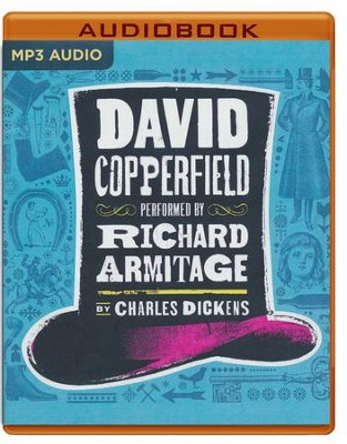 David Copperfield - unabridged audio book on MP3-CD   -     Narrated By: Richard Armitage     By: Charles Dickens