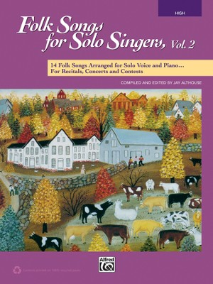 Folk Songs for Sole Singers 2-High Voice / Book & CD  -     By: Jay Althouse