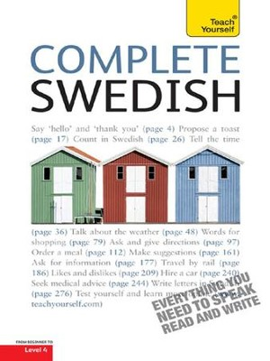 Complete Swedish: Teach Yourself / Digital original - eBook  -