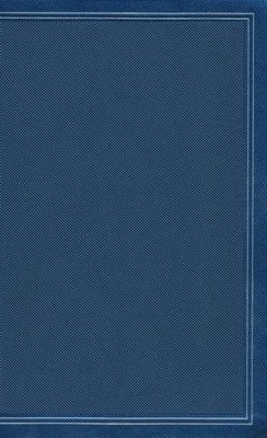 KJV Ultrathin Reference Bible--soft leather-look, cobalt blue (indexed)  -
