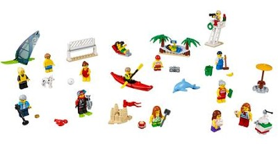 LEGO ® City People Pack Fun at the Beach set   -