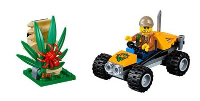 LEGO ® City Jungle Buggy   -