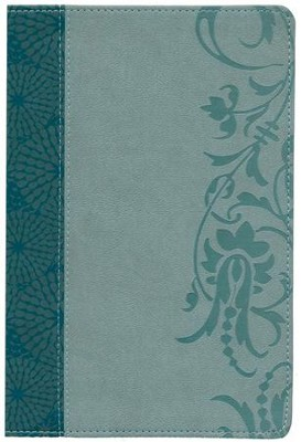 The Study Bible for Women, NKJV Edition, Teal and Sage LeatherTouch  -     Edited By: Dorothy Kelley Patterson, Rhonda Harrington Kelley