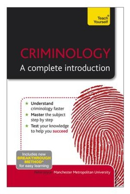 Criminology - A Complete Introduction: Teach Yourself / Digital original - eBook  -