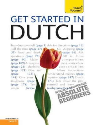 Get Started in Dutch: Teach Yourself / Digital original - eBook  -
