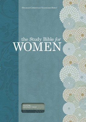 HCSB Study Bible for Women, Personal Size Edition, Teal and Sage LeatherTouch, Thumb-Indexed  -     By: Dorothy Patterson, Rhonda Kelley
