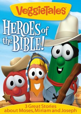 Heroes of the Bible: Moses, Miriam, and Joseph VeggieTales DVD  -