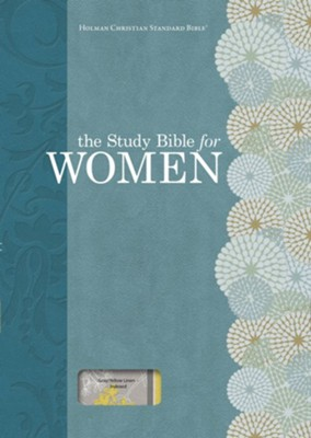 HCSB Study Bible for Women, Personal Size Edition, Yellow and Gray Linen, Thumb-Indexed  -     By: Dorothy Kelley Patterson, Rhonda Harrington Kelley