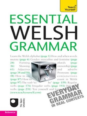 Essential Welsh Grammar: Teach Yourself / Digital original - eBook  -