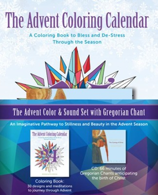 Advent Color and Sound Set with Gregorian Chant  -     By: Editors of Paraclete Press, Gloriae Dei Cantores Schola