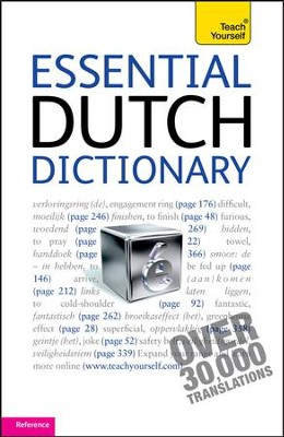 Essential Dutch Dictionary: Teach Yourself / Digital original - eBook  -