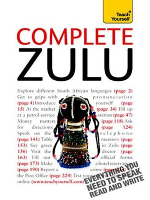Complete Zulu: Teach Yourself / Digital original - eBook  -
