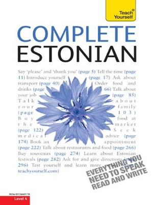 Complete Estonian: Teach Yourself / Digital original - eBook  -
