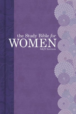 NKJV Study Bible for Women, Personal Size Edition, Hardcover, Thumb-Indexed  -     By: Dorothy Patterson, Rhonda Kelley