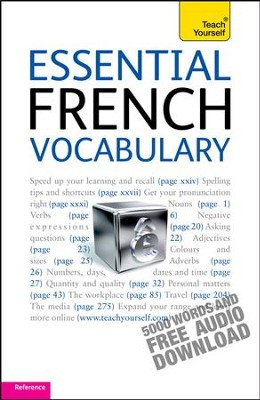 Essential French Vocabulary: Teach Yourself / Digital original - eBook  -
