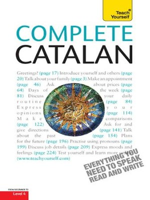 Complete Catalan: Teach Yourself / Digital original - eBook  -