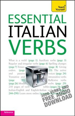 Essential Italian Verbs: Teach Yourself / Digital original - eBook  -