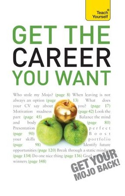 Get The Career You Want: Teach Yourself / Digital original - eBook  -