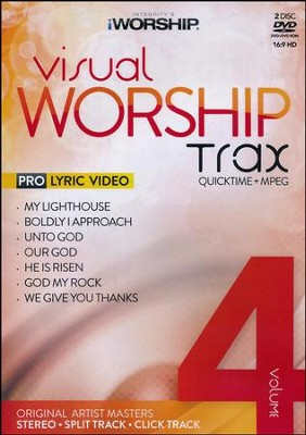iWorship Visual Worship Trax Volume 4   -     By: iWorship