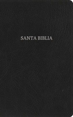 Biblia Ultrafina RVR 1960, Piel Fab. Negra, Ind.  (RVR 1960 Ultrathin Bible, Black Bon. Leather, Ind.)  -