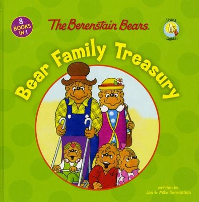 Berenstain Bears:  Bear Family Treasury  - Slightly Imperfect  -     By: Jan Berenstain, Mike Berenstain