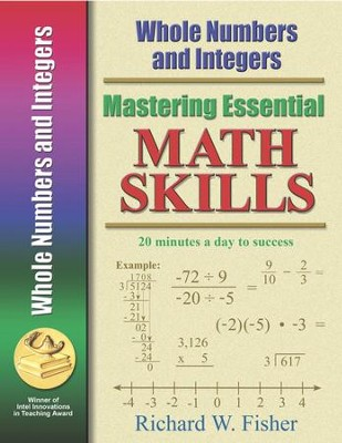 Mastering Essential Math Skills: Whole Numbers and Integers   -     By: Richard W. Fisher