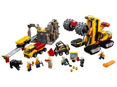 LEGO ® City Mining Experts Site   -