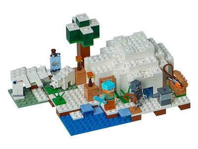 LEGO ® Minecraft ™ The Polar Igloo   -