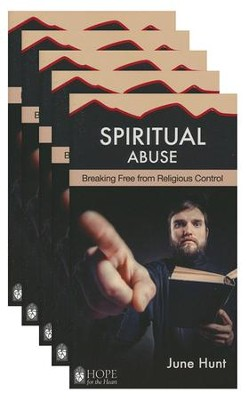 Spiritual Abuse: Religion at Its Worst - 5 Pack   -     By: June Hunt