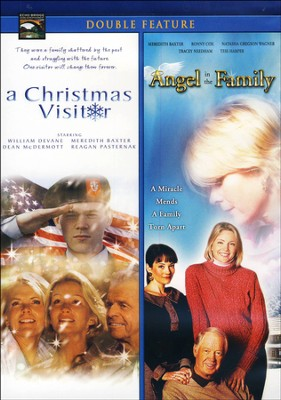 A Christmas Visitor/Angel In The Family, Double Feature DVD   -