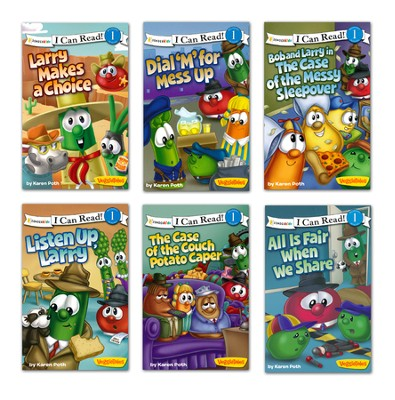 VeggieTales Collection, 6 Books   -
