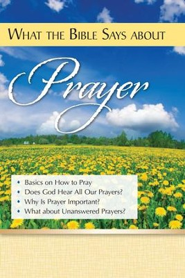 What the Bible Says About Prayer   -