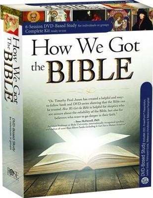 How We Got the Bible Made Easy--DVD Curriculum   -     By: Timothy Jones