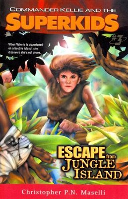 #3: Escape From Jungle Island  -     By: Christopher P.N. Maselli