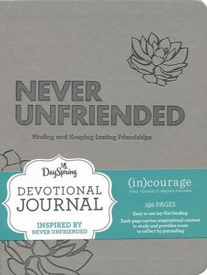 Never Unfriended, (in)Courage, Devotional Journal  -