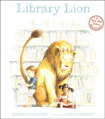 Library Lion  -     By: Michelle Knudsen
