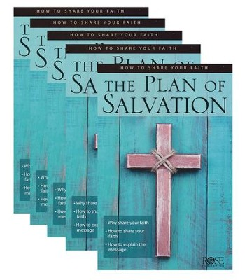 The Plan of Salvation, Pamphlet - 5 Pk   -