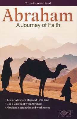 Abraham: A Journey of Faith, Pamphlet   -