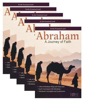 Abraham: A Journey of Faith, Pamphlet - 5 Pk   -