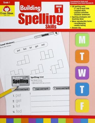 Building Spelling Skills, Grade 1   -     By: Homeschool