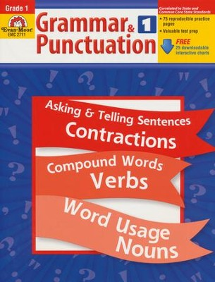 Grammar & Punctuation Grade 1  -     By: Homeschool