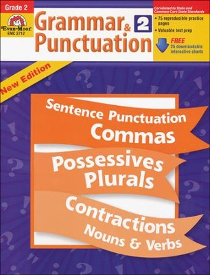 Grammar & Punctuation Grade 2  -     By: Homeschool