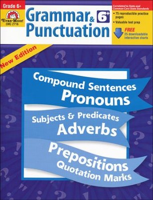Grammar & Punctuation Grade 6  -     By: Homeschool